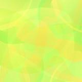 Fundo geométrico amarelo abstrato do vetor Foto de Stock Royalty Free