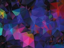 Fundo geométrico colorido Imagem de Stock Royalty Free
