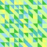 Fundo geométrico colorido abstrato Imagem de Stock