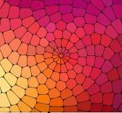 Fundo geométrico colorido abstrato ilustração stock