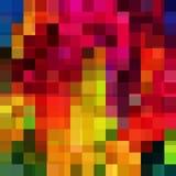 Fundo geométrico colorido abstrato Fotografia de Stock