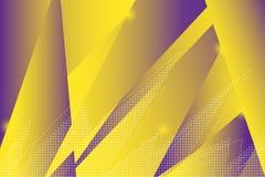 Fundo geométrico colorido Composição dinâmica das formas Imagens de Stock Royalty Free