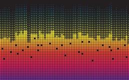 Fundo geométrico colorido Composição dinâmica das formas Fotos de Stock Royalty Free