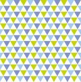 Fundo geométrico colorido sem emenda do teste padrão do triângulo Fotos de Stock Royalty Free