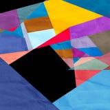 Fundo geométrico da aquarela abstrata ilustração royalty free