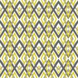 Fundo geométrico da textura abstrata sem emenda dos rombos do teste padrão Foto de Stock