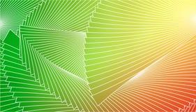 Fundo geométrico das linhas brancas em um fundo brilhante colorido Foto de Stock