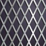 Fundo geométrico de aço Imagens de Stock Royalty Free