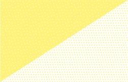 Fundo geométrico de Abctract Contexto amarelo mínimo Projeto na moda ilustração do vetor