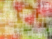Fundo geométrico de Colorfull Fundo geométrico Projeto triangular para seu negócio Imagens de Stock