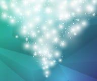 Fundo geométrico de Poligon Arte finala da cor Fundo eps10 do vetor da neve Fotos de Stock Royalty Free