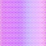 Fundo geométrico do dia do ` s do Valentim, teste padrão sem emenda Ilustração do vetor da cor pastel Projeto da textura do incli Foto de Stock