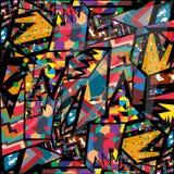 Fundo geométrico do fundo abstrato colorido Ilustração Royalty Free