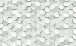Fundo geométrico do hexágono Fotografia de Stock Royalty Free