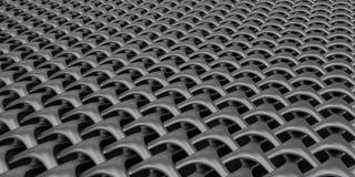 fundo geométrico do papel de parede do sumário do Weave 3D ilustração do vetor
