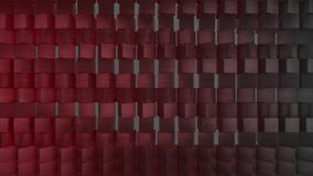 fundo geométrico do papel de parede do sumário do Weave 3D video estoque