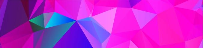 fundo geométrico do projeto do fundo no estilo e no abst do origâmi Fotos de Stock Royalty Free