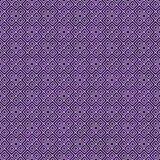 Fundo geométrico do teste padrão da repetição do quadrado roxo e branco fotos de stock royalty free
