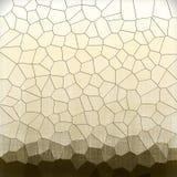 Fundo geométrico do teste padrão do sepia abstrato Imagem de Stock