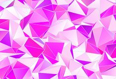 Fundo geométrico do triângulo poligonal do papel de parede Fotos de Stock Royalty Free