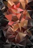 Fundo geométrico do triângulo poligonal do papel de parede Imagens de Stock Royalty Free
