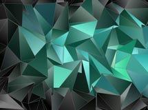 Fundo geométrico do triângulo poligonal do papel de parede Imagens de Stock