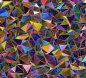 Fundo geométrico do triângulo poligonal do papel de parede Foto de Stock