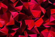 Fundo geométrico do triângulo poligonal do papel de parede Imagem de Stock