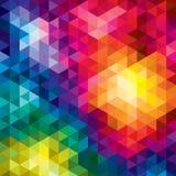 Fundo geométrico do vetor Imagens de Stock