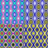 Fundo geométrico dos quadrados Fotografia de Stock