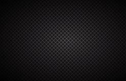 Fundo geométrico dos quadrados, papel de parede metálico preto abstrato Imagens de Stock Royalty Free