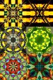 Fundo geométrico e colorido abstrato Foto de Stock