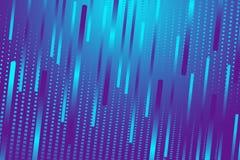 Fundo geométrico, linhas azuis, luz azul Fotografia de Stock