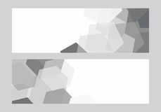 Fundo geométrico moderno abstrato Fotografia de Stock Royalty Free