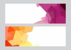 Fundo geométrico moderno abstrato Imagens de Stock