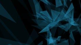 Fundo geométrico poligonal do sumário, triângulos Papel de parede moderno Estilo elegante do fundo ilustração do vetor