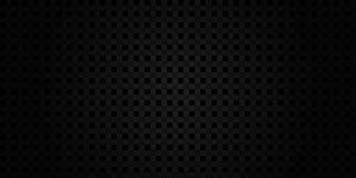 Fundo geométrico preto escuro da grade ilustração stock