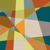 Fundo geométrico retro Textured Fotos de Stock