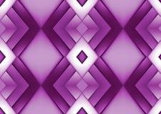 Fundo geométrico roxo abstrato Fotos de Stock