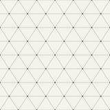 Fundo geométrico sem emenda com triângulos Fotografia de Stock