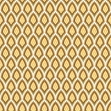 Fundo geométrico sem emenda do teste padrão de Art Deco do ouro Foto de Stock Royalty Free