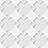 Fundo geométrico sem emenda do teste padrão do vetor 3d Imagem de Stock