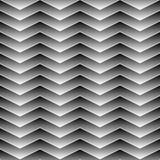 Fundo geométrico sem emenda protegido preto do teste padrão Imagens de Stock