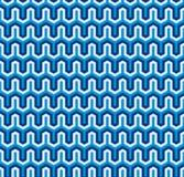 Fundo geométrico sextavado sem emenda da textura do teste padrão Foto de Stock