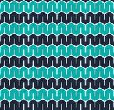 Fundo geométrico sextavado sem emenda da textura do teste padrão Imagens de Stock