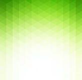 Fundo geométrico verde abstrato da tecnologia ilustração stock