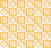 Fundo geométrico abstrato sem emenda Imagens de Stock Royalty Free