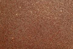 Fundo glittery de Brown imagem de stock royalty free