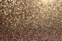 Fundo glittery do ouro fotos de stock royalty free