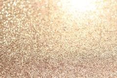 Fundo glittery do ouro fotografia de stock royalty free